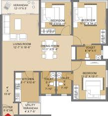 Floor Plan Meaning Salarpuria Silveroak Estate In Rajarhat Kolkata Price Location