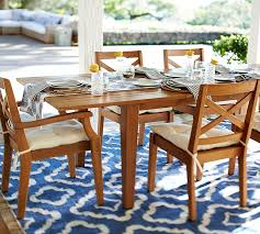 extension dining table and chairs hstead teak extending dining table pottery barn