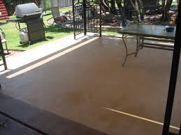 Patio Paint Concrete by How To Staining Concrete Patio U2014 Home Ideas Collection