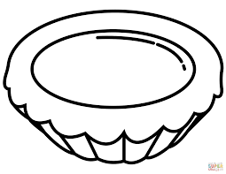 egg tart coloring page free printable coloring pages