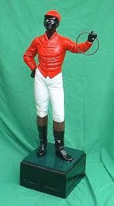 historical american lawn jockey statues ky derby
