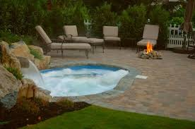 Patio And Pool Designs Small Backyard This