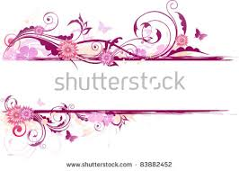 vector floral background flowers ornament stock vector