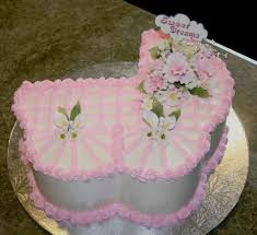 baby shower cake with fondant ruffles rosettes pictures for twins
