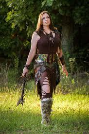 amazon warrior amazon warrior sugar lady studio horse hair leather artist