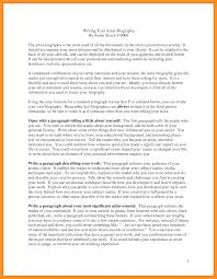 Resume Biography Sample by 9 Biography Examples Of Yourself Scholarship Letter