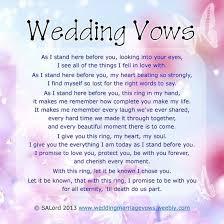 wording for wedding ceremony sle wedding renewal vows wedding magazine