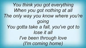 lionel richie home lionel richie i u0027m coming home lyrics youtube
