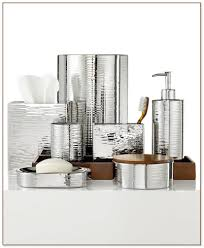 Bella Lux Bathroom Accessories by White And Gold Bathroom Accessories