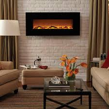 wall electric fireplace binhminh decoration