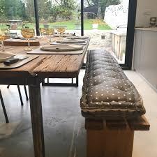 banquette cuisine sur mesure coussin pour banc génial coussins sur mesure pour banc et