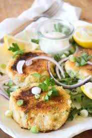 Main Dish With Sauce - irish fish cakes with 30 second tartar sauce the view from great