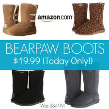 ugg boots sale womens amazon bearpaw womens boots 19 99 was 85
