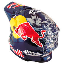 motocross helmet red bull masei u0026 hjc cirus white 307 red bull enegry drinks atv motocross