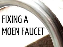 how to fix a leaky kitchen faucet moen moen kitchen faucet repair tips for fixing a faucet moen
