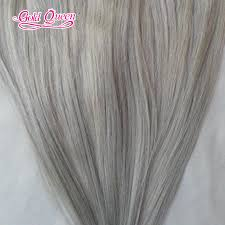 gray hair pieces for american gold queen hair african american clip in human hair extensions
