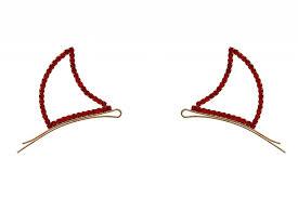 bobby pins horns bobby pins rhinestone ronjo magic costumes