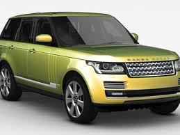 liquid gold range rover autobiography custom paint costs 14 500
