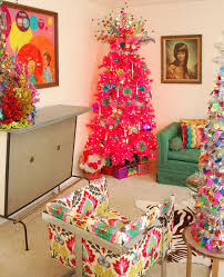 the right colored christmas tree for the right room blog