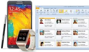 sync outlook calendar with android galaxy note3 outlook sync via usb contacts calendars tasks and