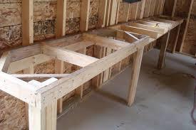 garage workbench simple garage workbench plans diy marissa kay