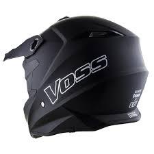 motocross helmets 801 x1 pro motocross helmet matte black voss motorcycle