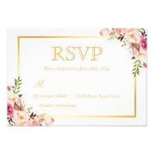 wedding reply cards rsvp cards templates zazzle