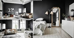 room with black walls how to work black walls sheerluxe com