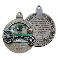 deere limited edition 2014 pewter ornament 19th