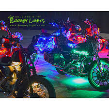 Led Lights For Motorcycle Value Series Single Color 63 Led Engine Kit With Ground Effects