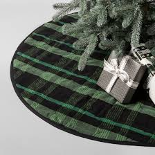 plaid tree skirt green hearth with magnolia target