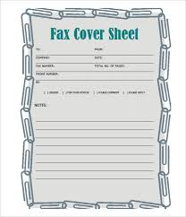 Fax Cover Sheet Template Pdf Fax Cover Letter In Pdf Confidential Fax Cover Sheet 8 Free