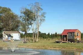 tiny house on the christmas tree farm in manvel texas united states