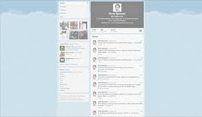 layout of twitter page the making of my new twitter background design