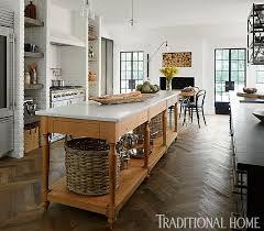 TudorStyle Home With A Modern Makeover Traditional Home - Tudor home interior design