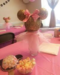 Pink And Gold Centerpieces by 29 Best Pink U0026 Gold Minnie Mouse Birthday Ideas Images On