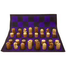 minimalist chess set by carl auböck for sale at 1stdibs