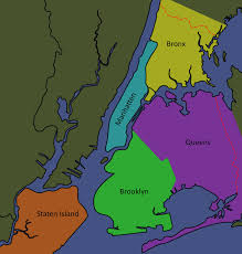 Map Of Ny City Map Of The 5 Boroughs Of New York City You Can See A Map Of Many