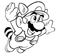 free printable mario coloring pages kids super mario images