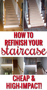 Buy Banister Update Your House With Just A Few Steps Easy Step By Step