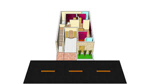 3d house floor plan dg khan pakistan 29 u0027 x 46 u0027 5 marla