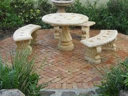 Outdoor Table Ideas Fantastic Ideas Stone Patio Table U2013 Outdoor Decorations