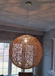 Yarn Chandelier by 10 Rooms A Lighting Diy The New Chandelier