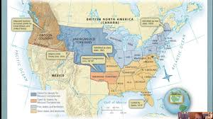 Mexico Map 1821 by Chapter 12 3 Missouri Compromise To Monroe U0027s Doctrine Youtube