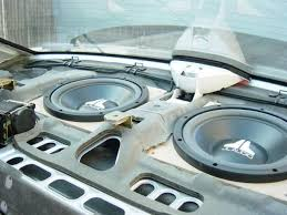 how to install a car audio amplifier and subwoofer car audio