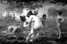 they made the history spartan women helen and atalanta female
