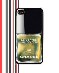 nail polish iphone 5 case chanel 531 peridot by chanail