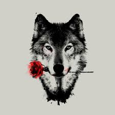 wolf tees design by humans
