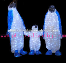 outdoor decorations led 3d figures acrylic