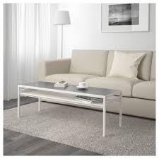nyboda coffee table w reversible table top white grey 120x40x40 cm